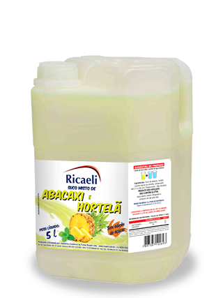 Abacaxi e Hortelã