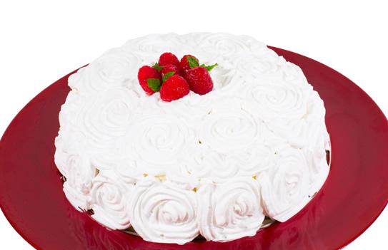 Cake Red Velvet Framboesa