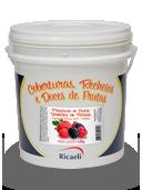 Preparado de Frutas Vermelhas em Pedaços Ricaeli